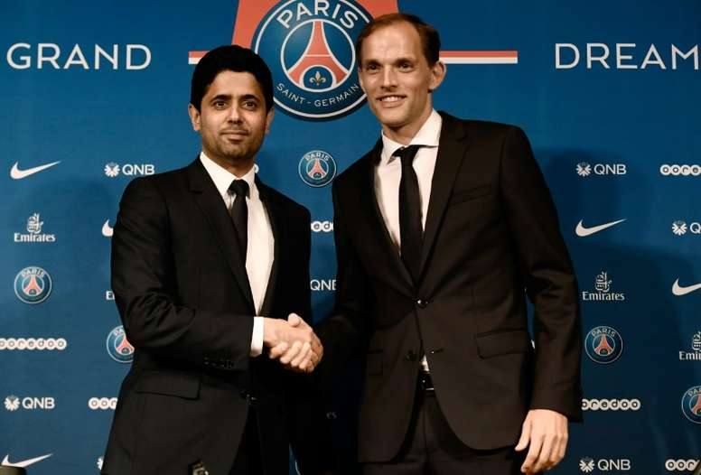 tuchel et nasser Paris Saint-Germain: Officialisation du limogeage de Thomas Tuchel