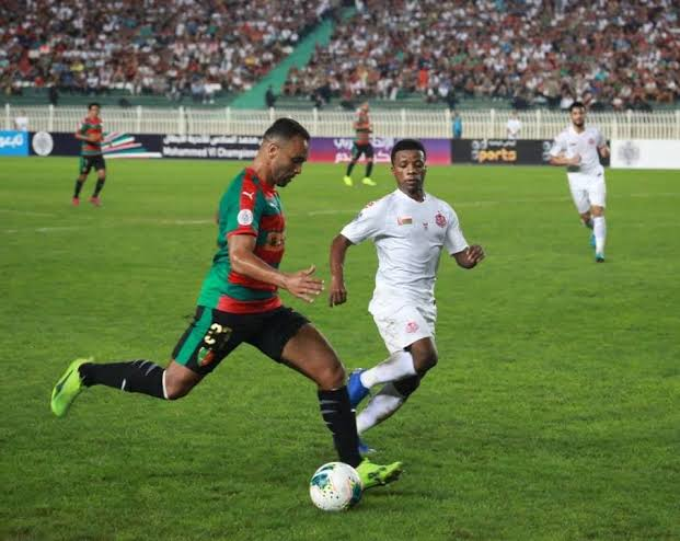 CS Sfax vs MC Alger LDC CAF CS Sfax 1 - MC Alger 0 (cumul 1-2) : Le Mouloudia passe l'obstacle tunisien