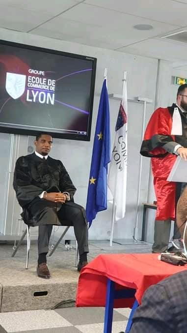 Docteur Honoris Causa Samuel Eto'o
